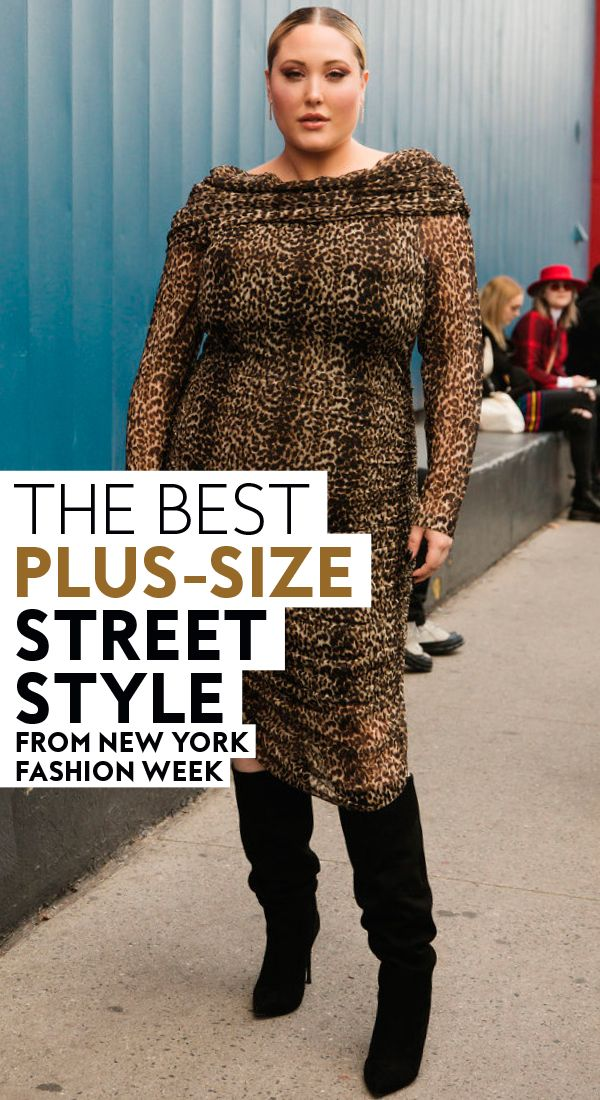The Best Plus-Size Street Style From New York Fashion Week