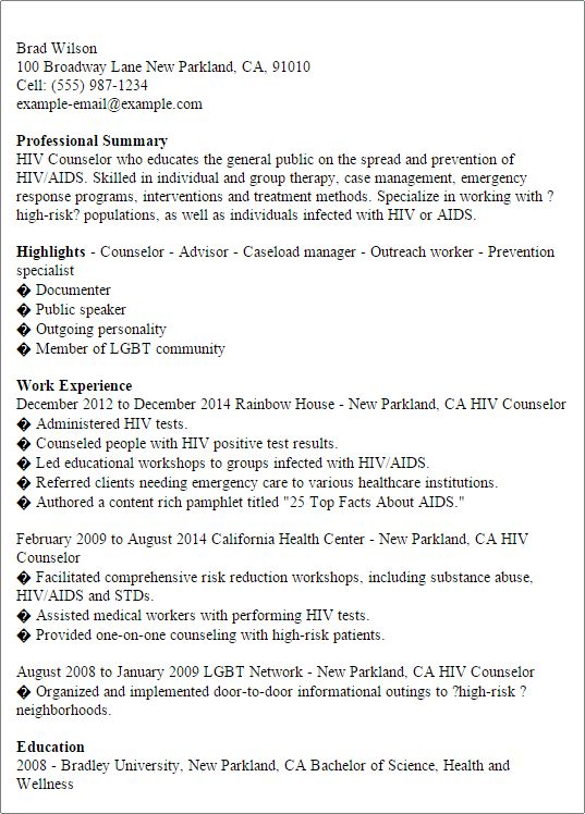 outreach worker sample resume outreach worker resumes - Outreach Worker Sample Resume