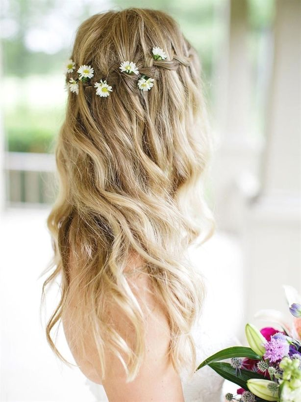 "Master the boho bridal hairstyle with this waterfall braid with flowers woven through. <a class=""pintag"" href=""/explore/braidhair/"" title=""#braidhair explore Pinterest"">#braidhair</a> <a class=""pintag"" href=""/explore/BridalHair/"" title=""#BridalHair explore Pinterest"">#BridalHair</a><p><a href=""http://www.homeinteriordesign.org/2018/02/short-guide-to-interior-decoration.html"">Short guide to interior decoration</a></p>"