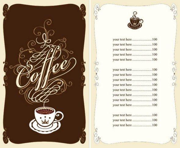 Cafe Menu Template Word Free Menu Template 21 Free Word Pdf - sample menu template