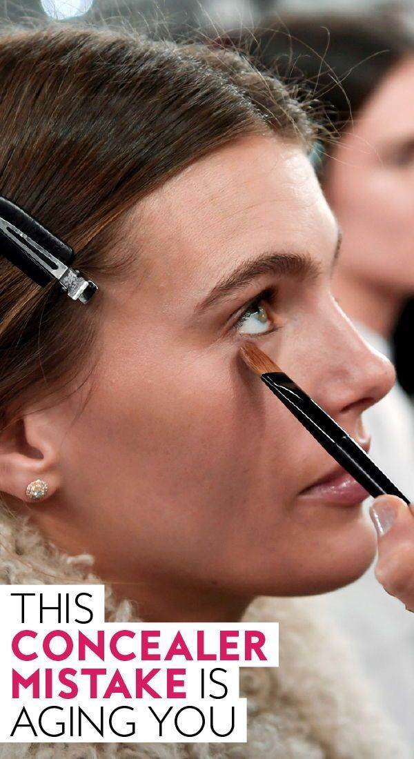 This #concealer mistake is #aging you. #makeuptips #makeuphacks #applyconcealer #concealertricks #concealertips #contour