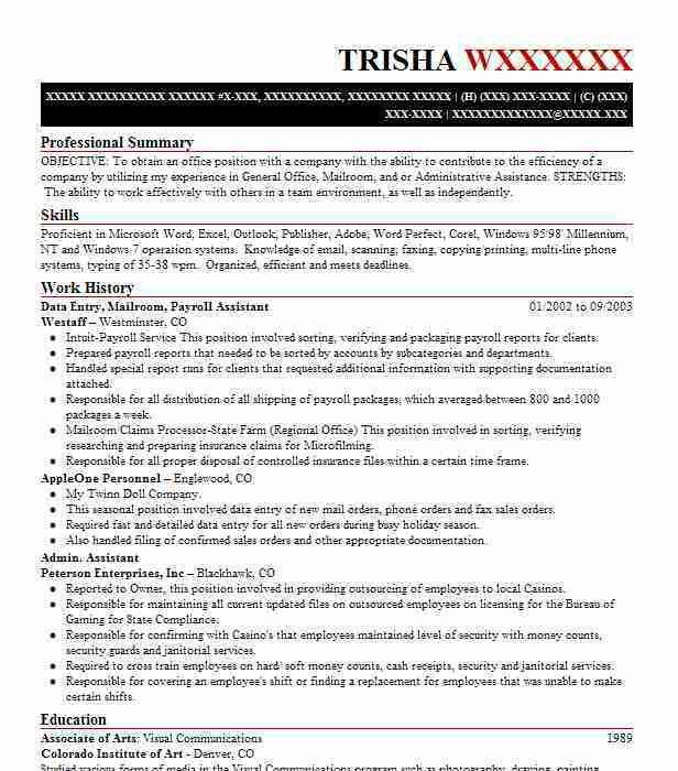 data entry resume 8 data entry resume sample skills based resume