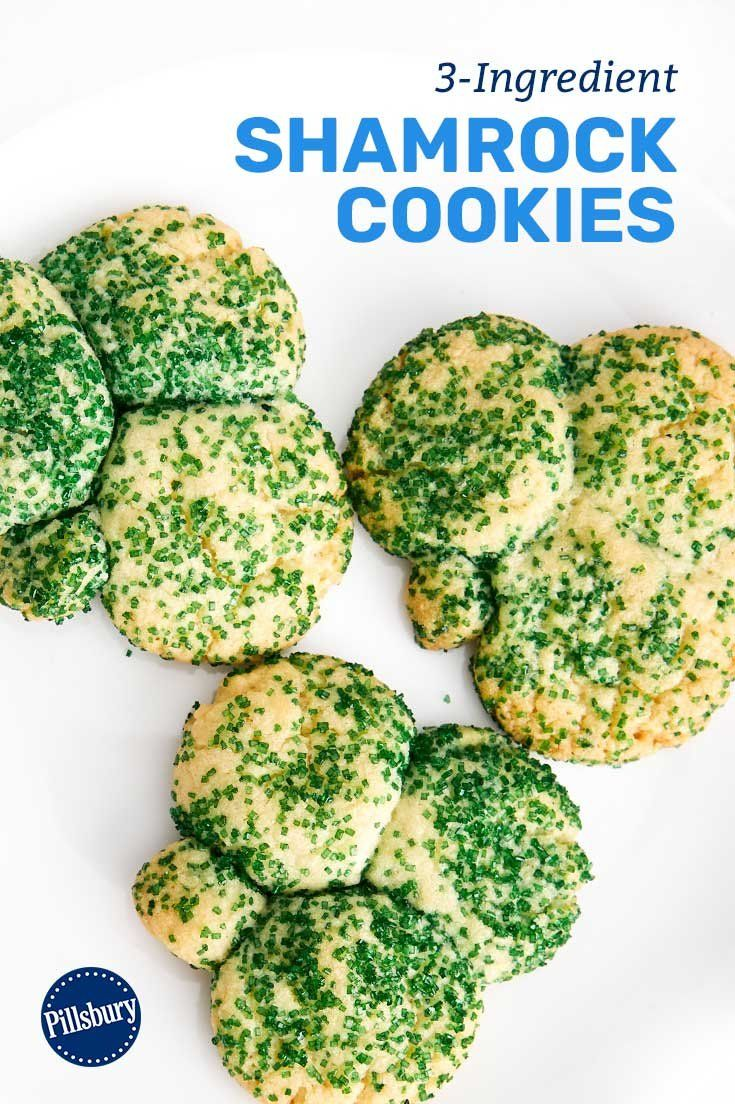 Slainte! Celebrate St. Patrick's Day with easy shamrock cookies that will make you and your littles feel extra lucky to be baking together.
