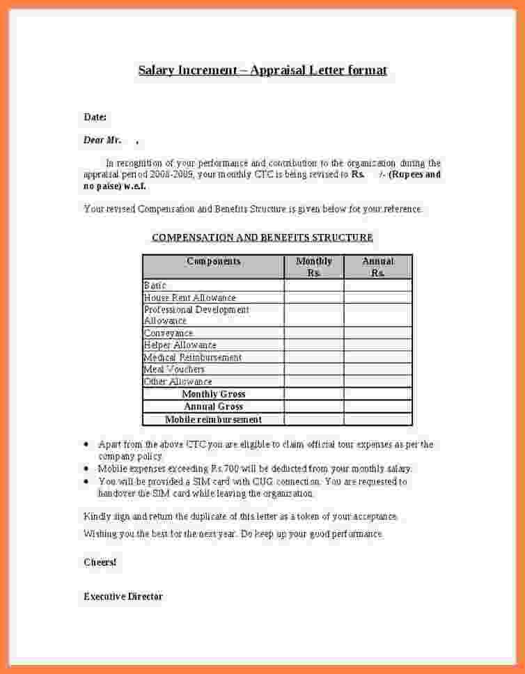 salary certificate letter format