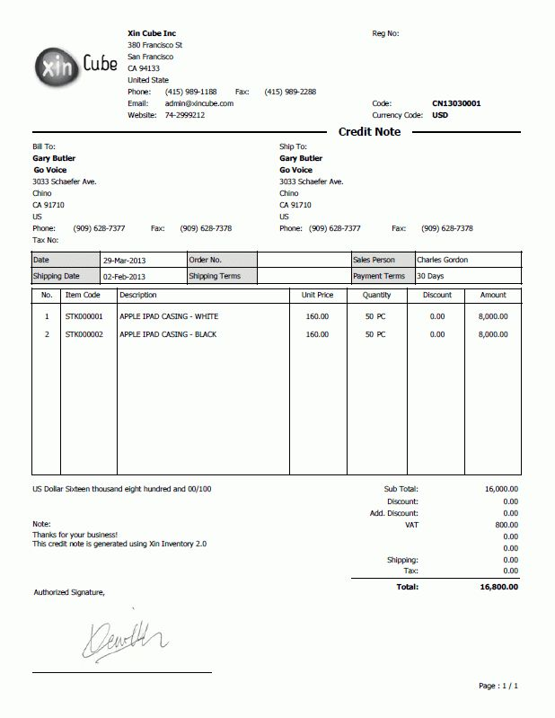 Credit Note Form Credit Note Template 8 Free Word Pdf Documents - credit note template