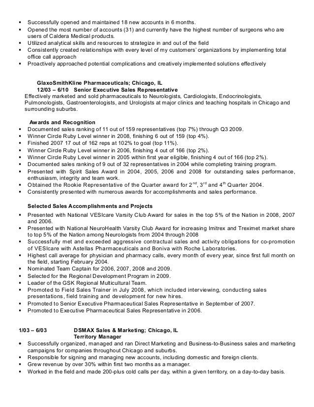 Medical Device Sales Resume Examples - Examples of Resumes - medical device resume examples