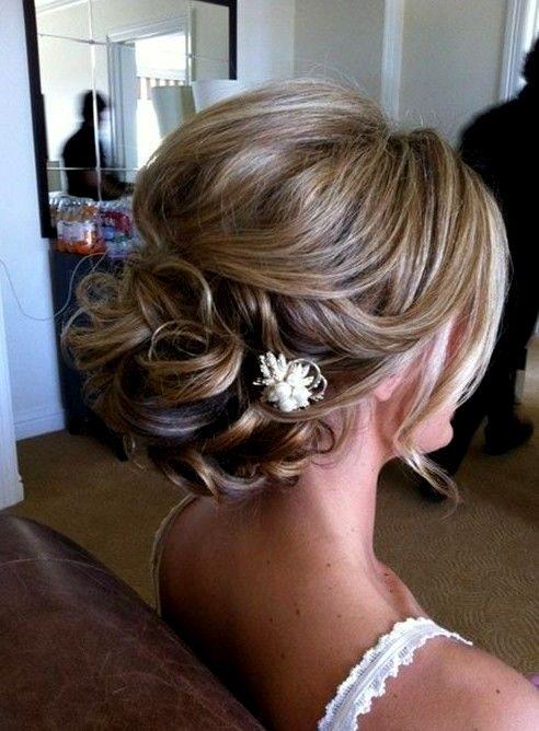 Bridesmaid Hair Swept