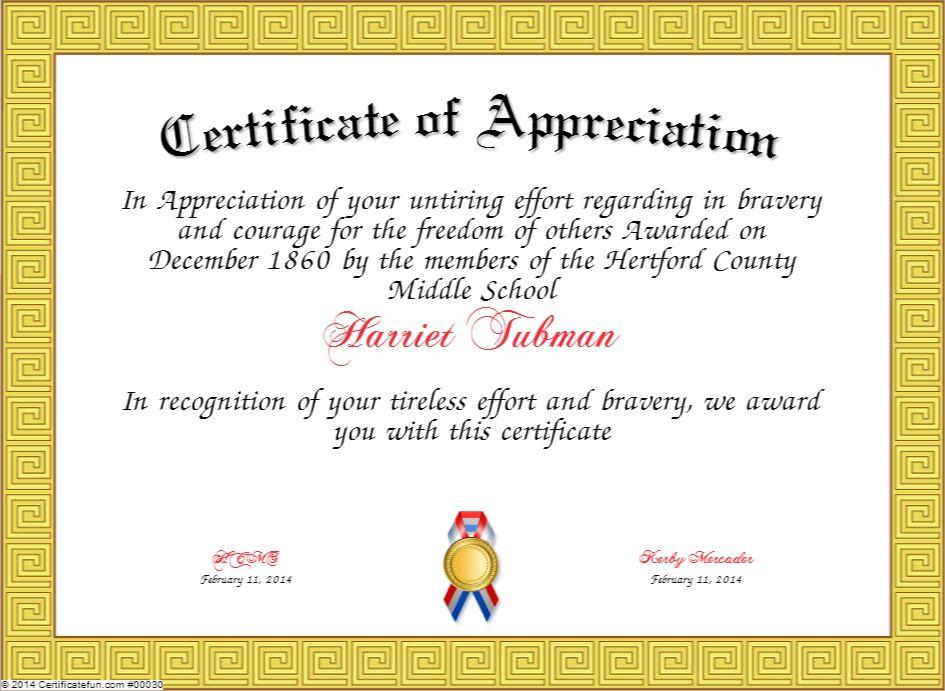 Sample Wording For Certificate Of Appreciation How To Write A - sample certificate of appreciation