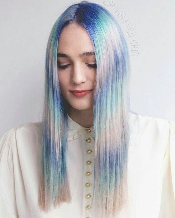 30 Glamorous Green Hair Styles Momooze Com 2: Hair Styles , Hair , Pastel Hair