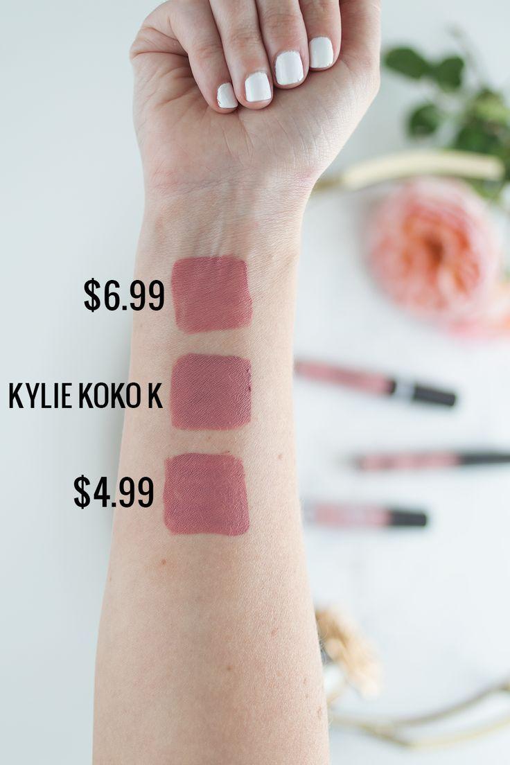 Kylie Cosmetics Koko K Dupe | Drugstore Dupes | Meg O. on the Go