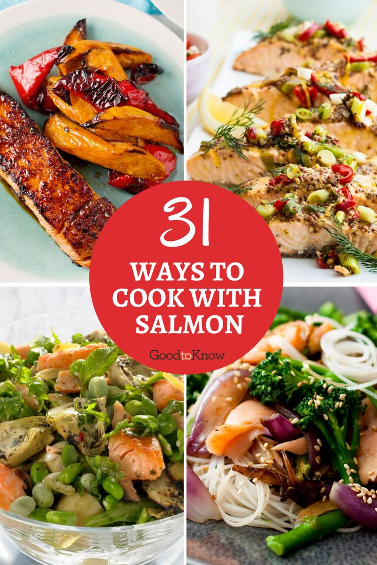 Salmon fillets are not only healthy and packed with omega-3s, but they're versatile too. From pasta and stir-fries to pastry parcels and roast dishes, try these tasty salmon recipes. Full of flavour and not too expensive, salmon fillets are an easy way to give your family meals a healthy boost. Fry them, bake them in a sauce or roast them to bring an easy family dinner to the table quickly. #salmonrecipesbaked #salmonrecipeshealthy #salmonfilletrecipes #salmonfillets #easyfamilydinners #budget
