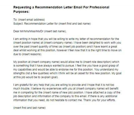Recommendation Letter From Employer Sample Sample Recommendation - employer recommendation letter sample