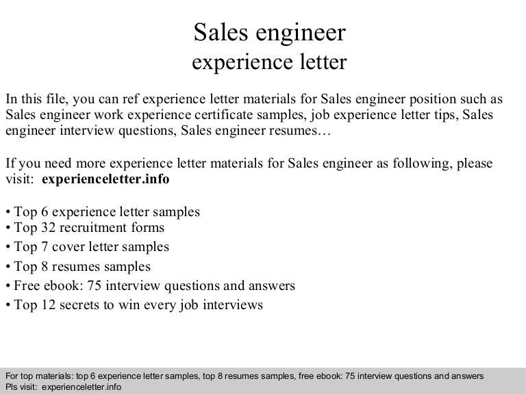 Automation Sales Engineer Cover Letter | Cvresume.unicloud.pl