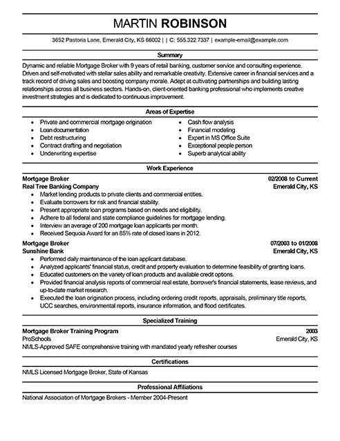 Mortgage Broker Resume download real estate broker resume Real Estate Agent  Resume Example Real Estate Agent