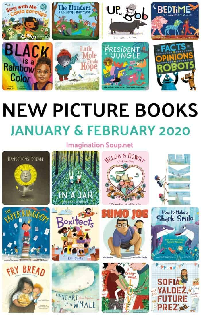 New Picture Books, January and February 2020