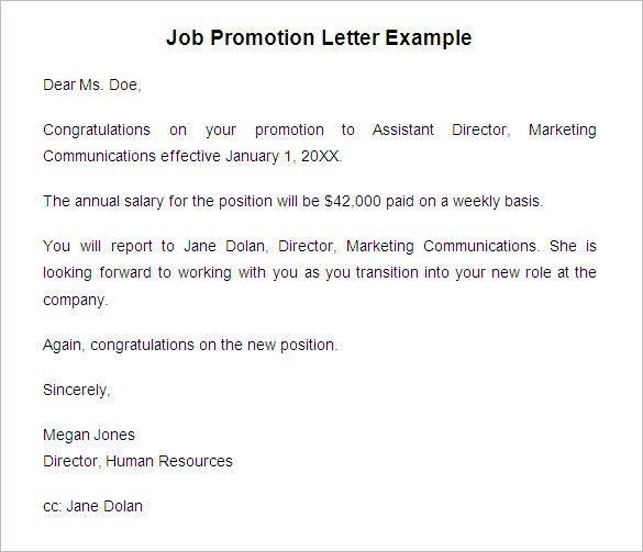 internal promotion announcement sample promotion announcement - promotion announcement letter sample