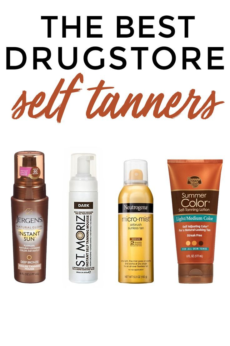 Best drugstore self tanners #selftan #drugstorebeauty #beauty #beautytips