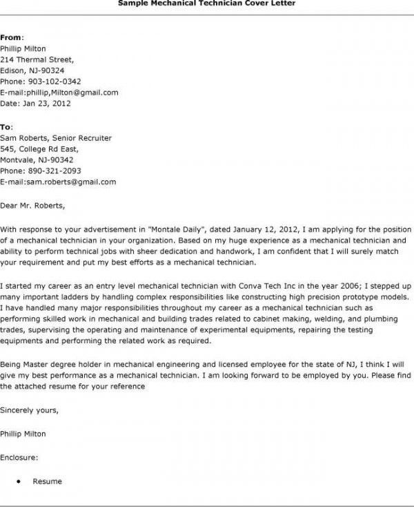 ... Sample Electronic Technician Cover Letter Amazing Computer   Audio Technician  Cover Letter