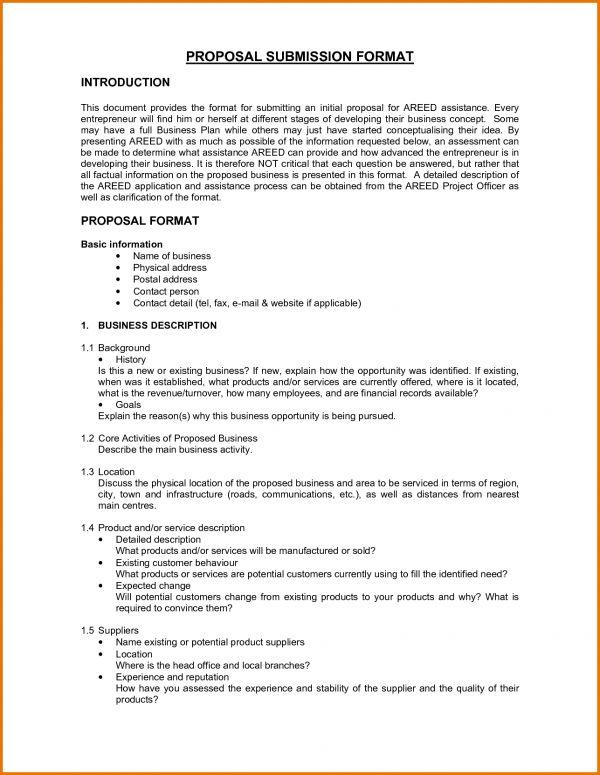 Business Proposal Letter Format 32 Sample Business Proposal - proposal letter format