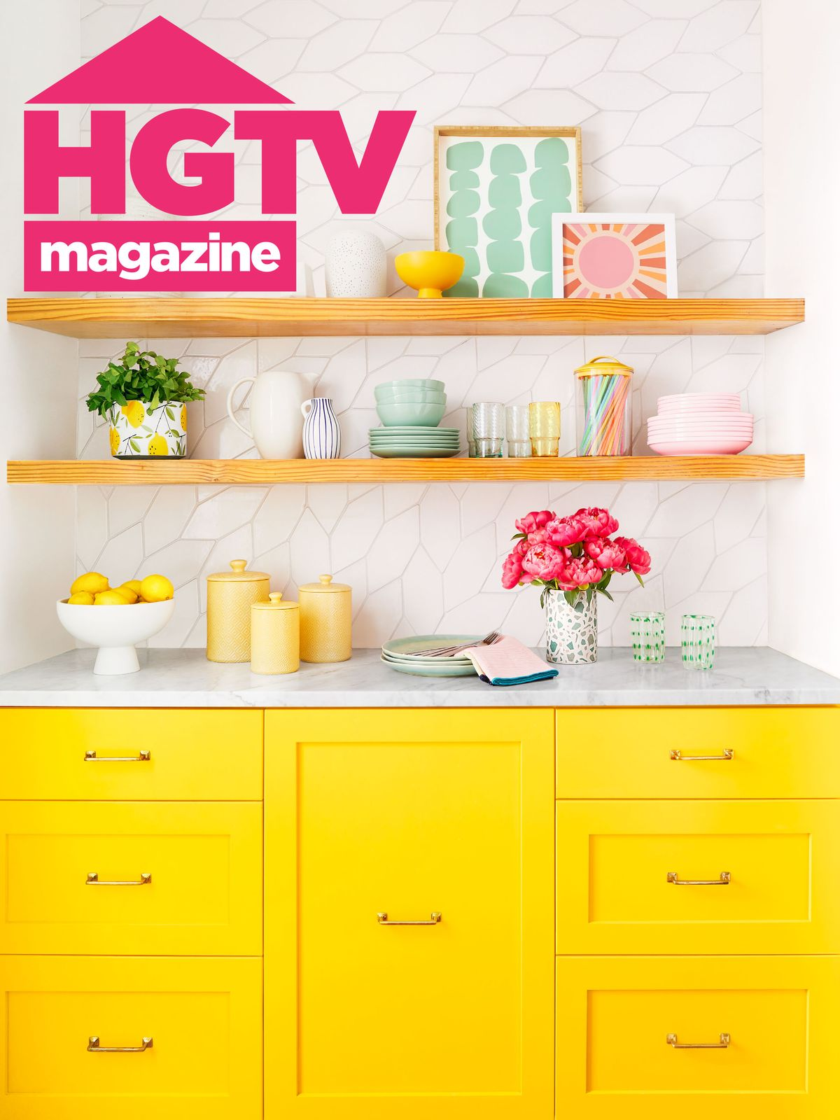 January February 2020 issue of HGTV Magazine