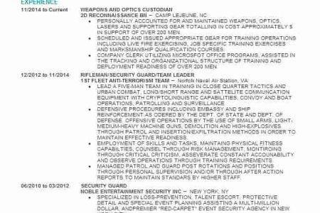 embassy security guard sample resume node2004-resume-template - entertainment security guard sample resume