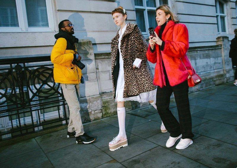 Best London Fashion Week Street Style: Lily Cole in Simone Rocha