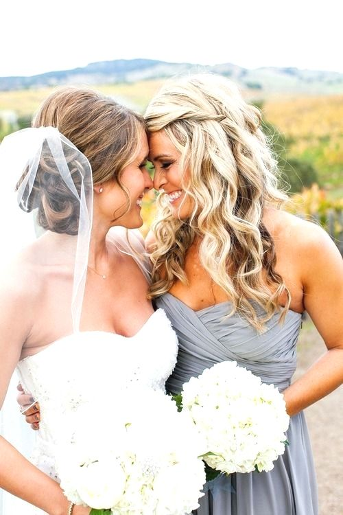 Bridesmaids Hairstyles Brunette