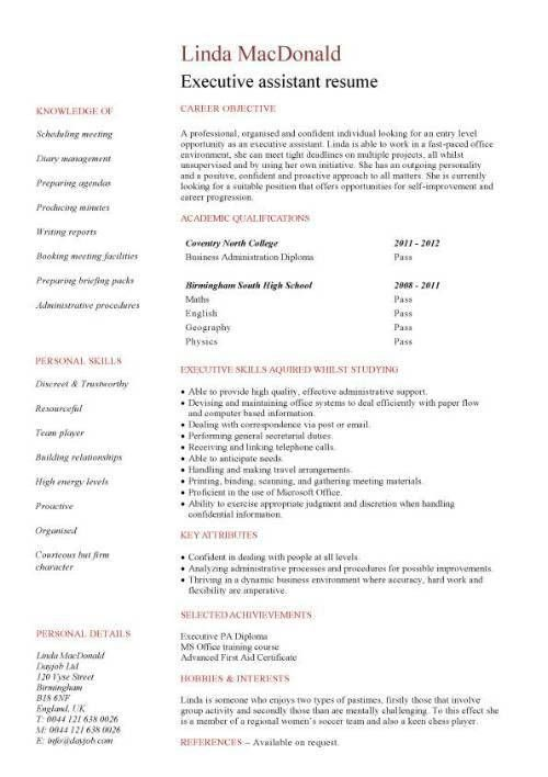Resume Templates No Work Experience Student Resume Examples - work experience resume example