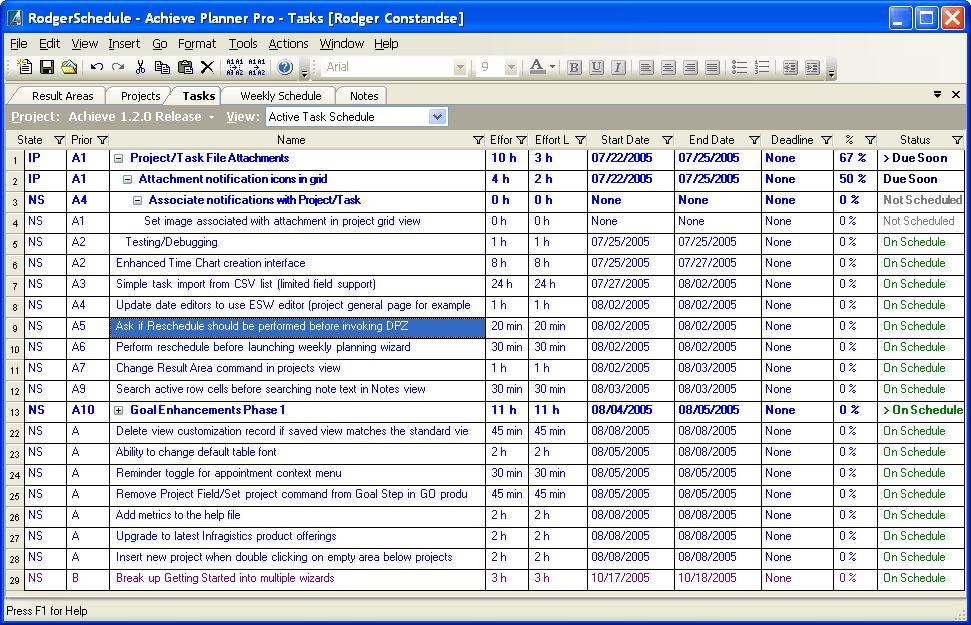 Sample Task List Project Task List Template 10 Free Sample - management list sample