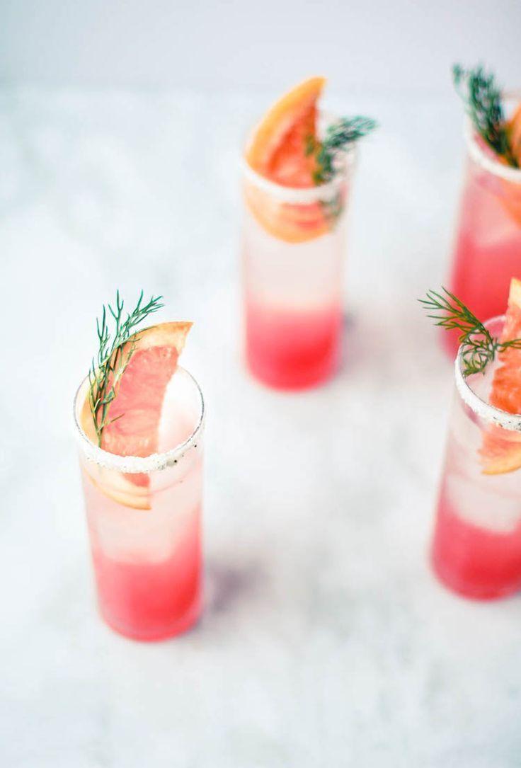 jojotastic // portrait of a cocktail // grapefruit fennel fizz