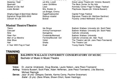Theater Resume Example Best 25 Acting Resume Template Ideas On - musical theatre resume examples