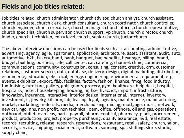 church administrator salary church administrator salary 12 church administrator cover letter - Church Administrator Salary