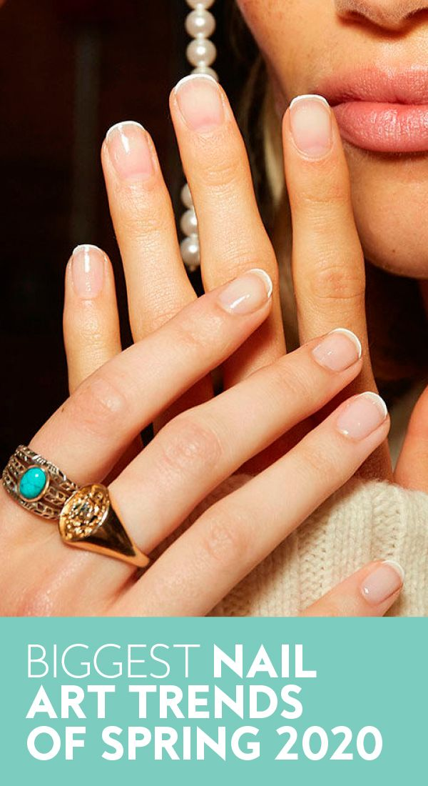 The Biggest Nail Art Trends of 2020