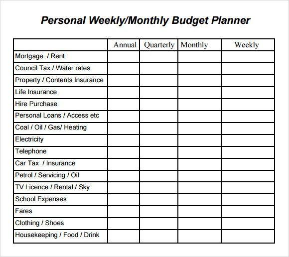 Simple Budget Template Simple Budget Worksheet Template, 12 - sample budget planner