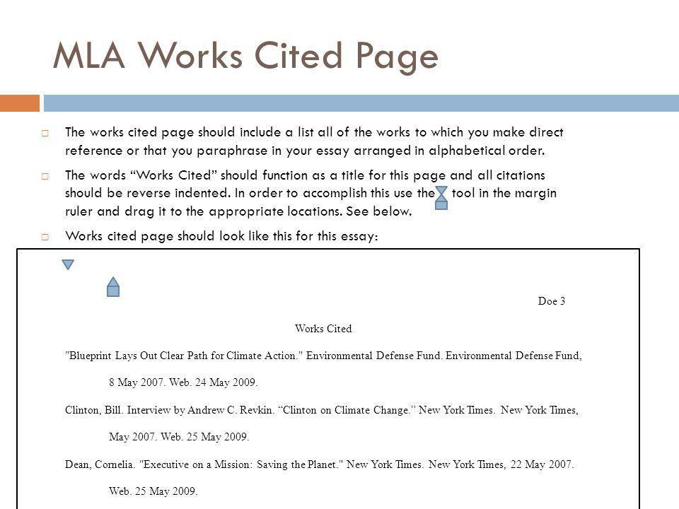Essay Work Cited Essay Citation Generator Mla Citation Essay