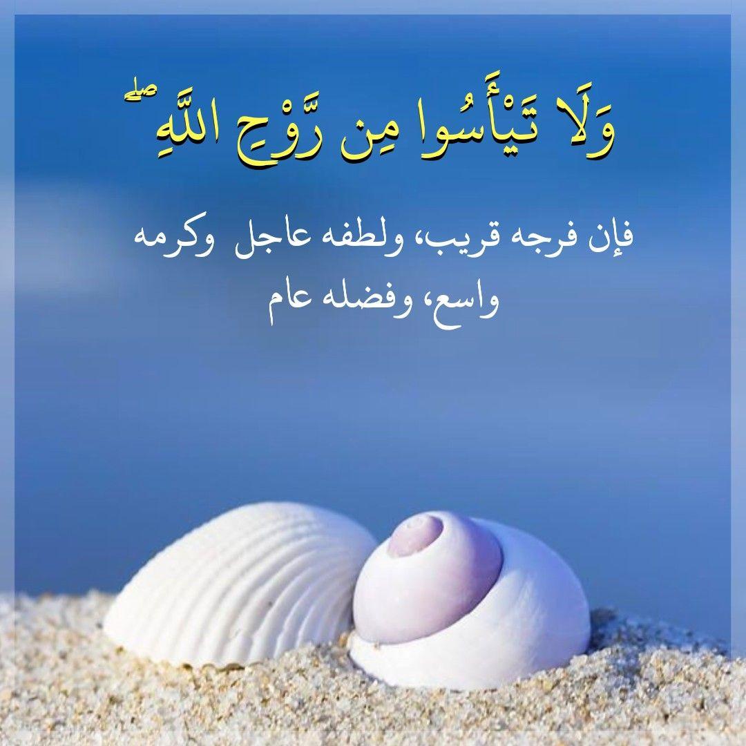 قرآن كريم آيه لا تيأسوا من روح الله Sweet Words Islam Women Life Quotes