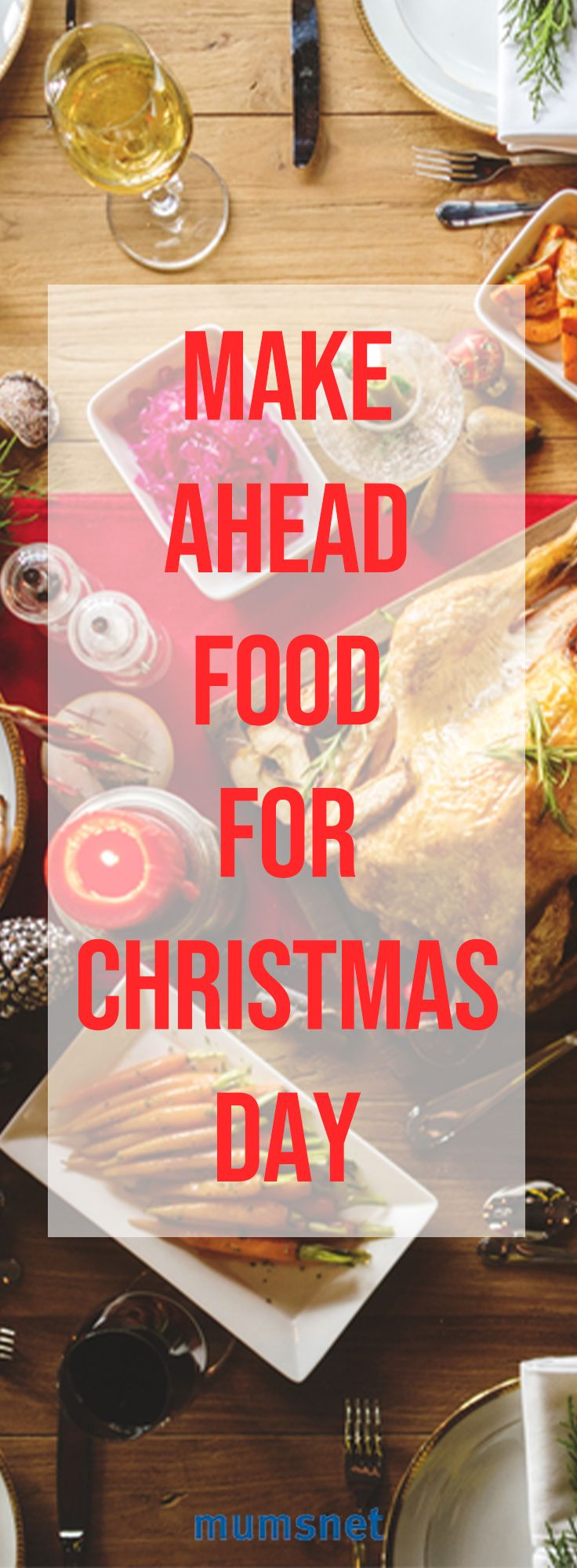Wouldn't you rather be spending Christmas Day exchanging gifts and treats with the family? Follow these quick and easy recipes and tips for a stress-free Christmas Dinner by preparing ahead. It might even leave you time for appetizers and dessert! Party on!