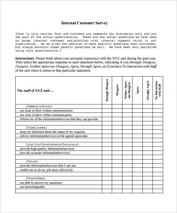 church survey template hitecauto - survey template in word