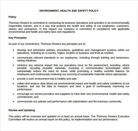 100+ Monthly Health And Safety Report Template Health U0026 - safety report sample
