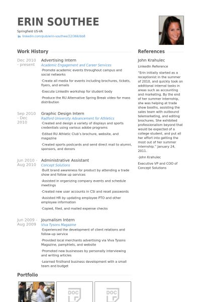 Advertising Agency Sample Resume advertising agency sample resume