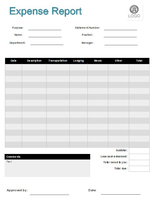 Expense Form Templates Expense Claim Form Template Double Entry - expense reimbursement form