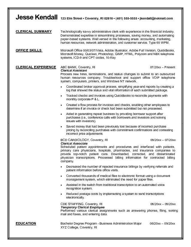 Career Objective For Healthcare Resume Health Care