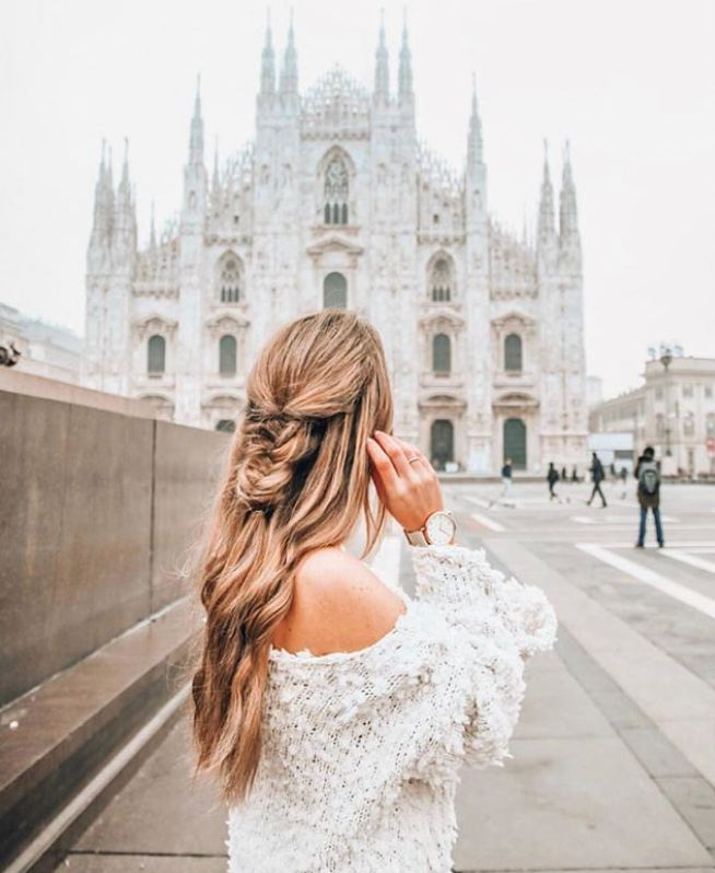 Easy Half-Up Hairstyles for School, Work & Travel