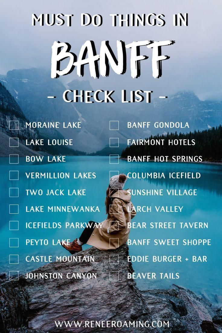 Must See Canadian Rockies Lakes