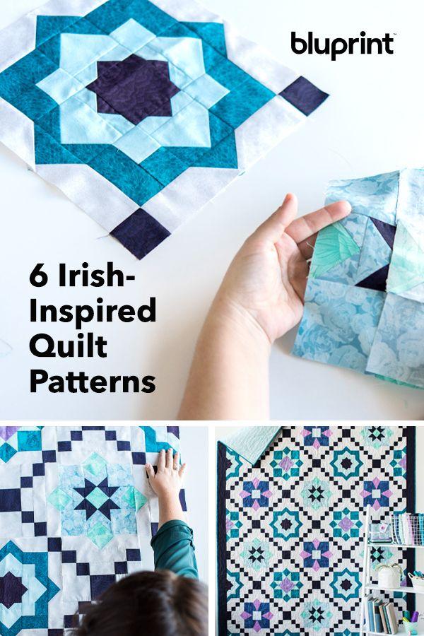 6 Irish-Inspired Quilt Patterns