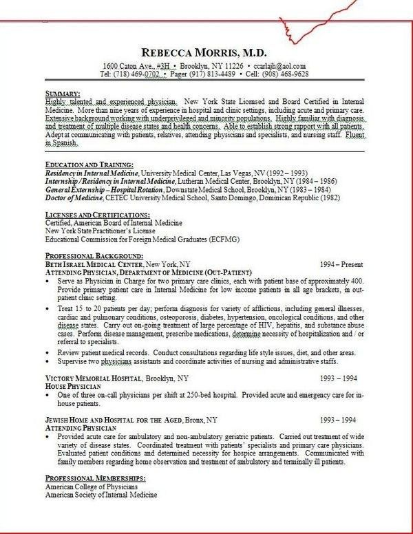 Samples Of Medical Assistant Resumes 16 Free Medical Assistant