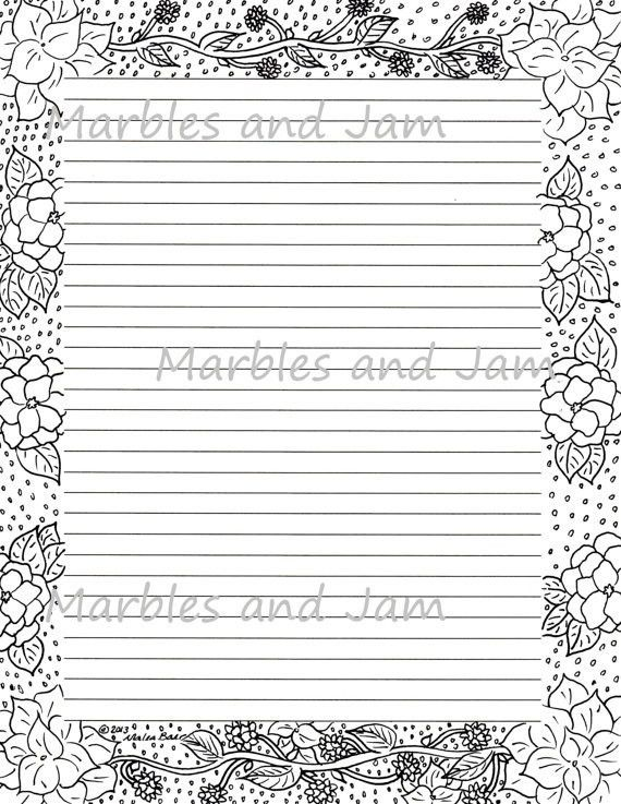 Lined Border Paper Printable Lined Paper With Borders Bing Images - sample lined paper