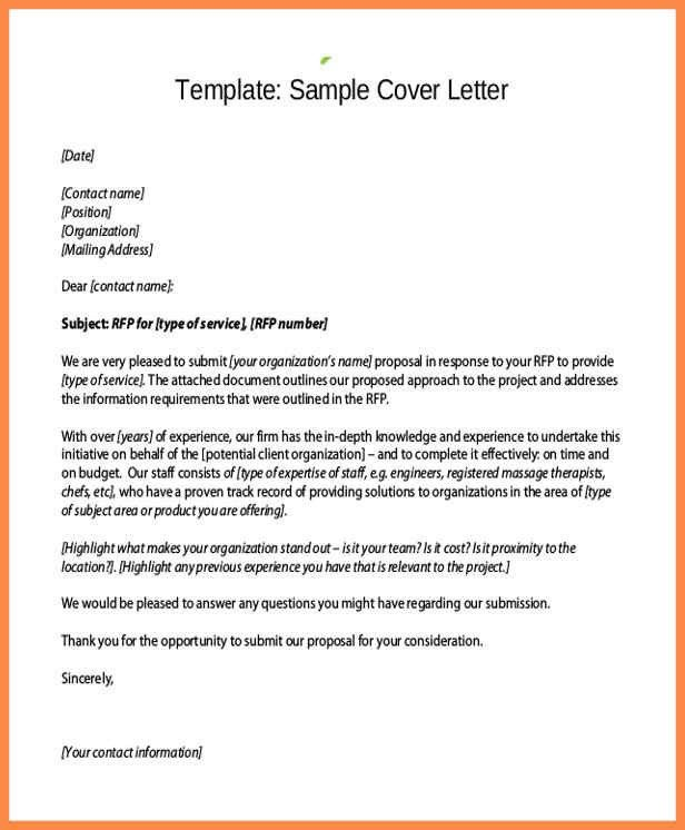 proposal cover letter sample sample proposal cover letter proposal cover letters sample business proposal cover letter - Proposal Cover Letter Example