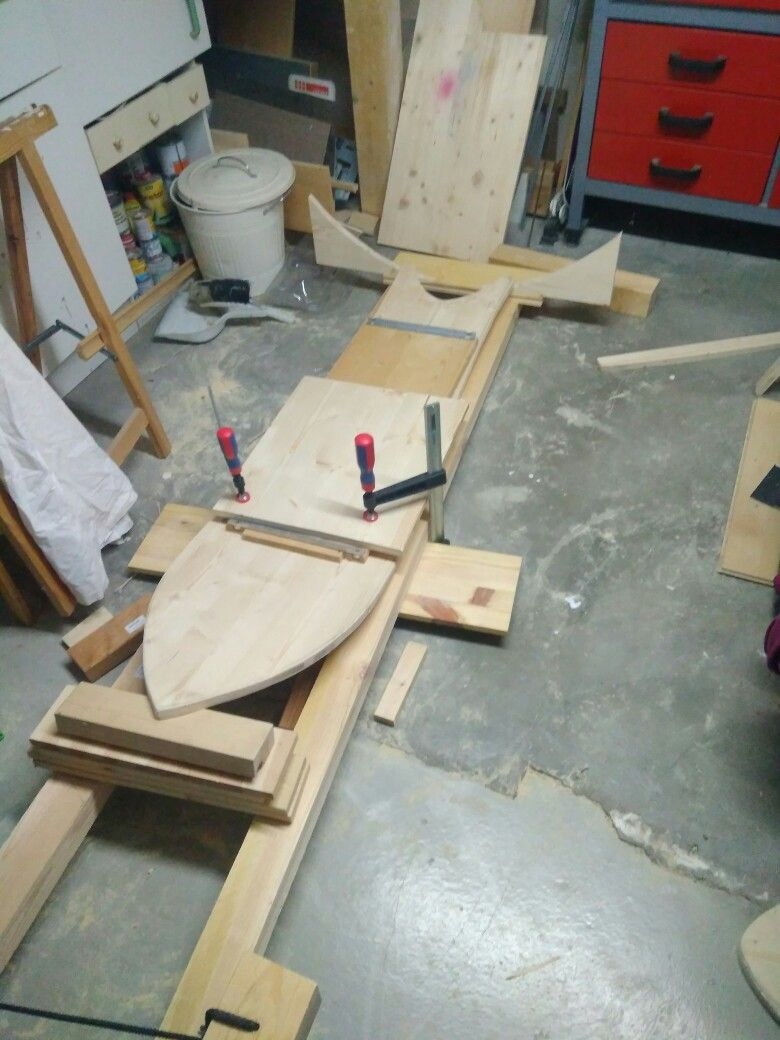 3 Schicht Brett Form Mit Stichsage Ausschneiden 38cm X 150cm 2