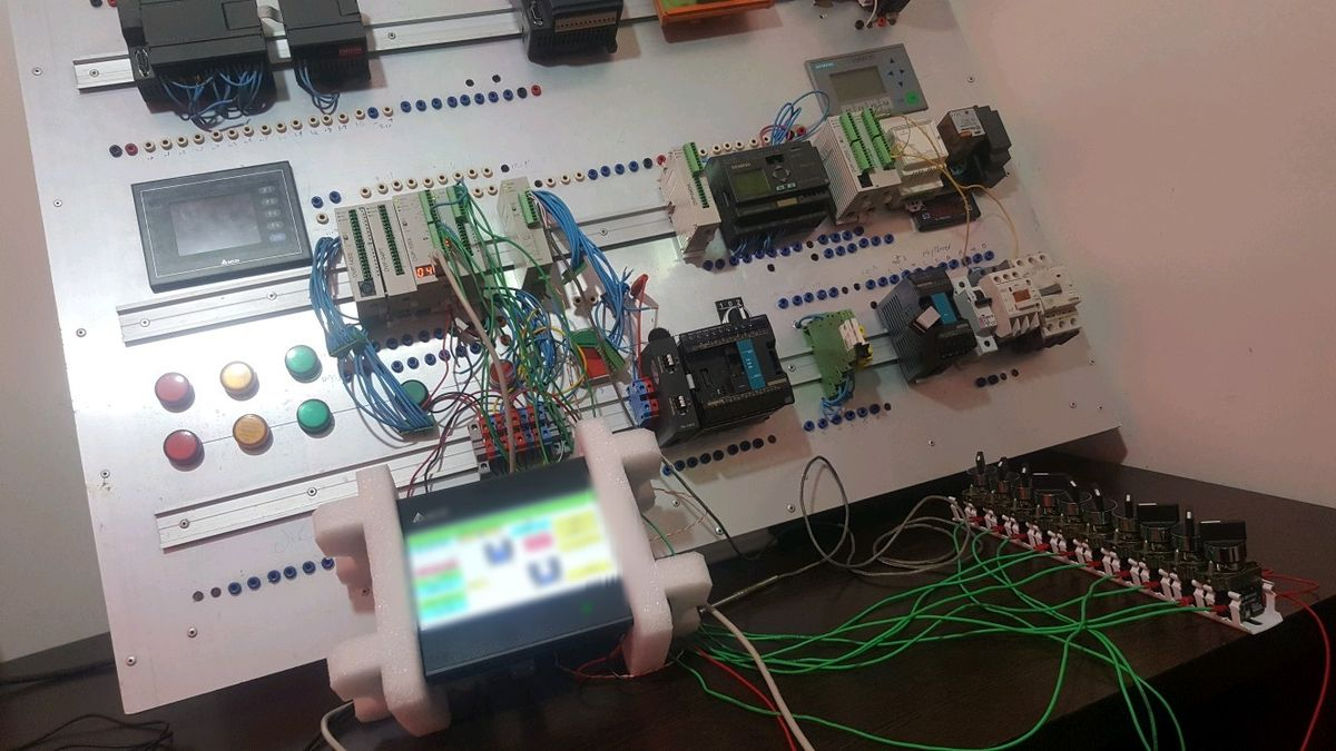PLC & Industrial Automation Bord in Home #plc1 | PLC - Logo ...